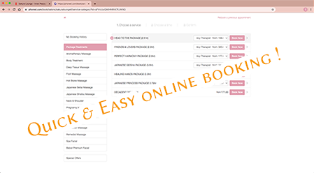 Quick and easy online booking!